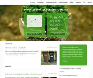 Pokrenut ELOO sustav za prijavu odbačenog otpada