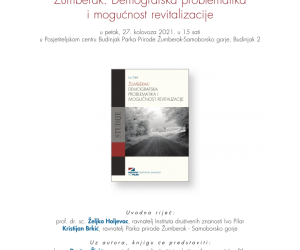 Najava događanja: Predstavljanje knjige o demografiji Žumberka